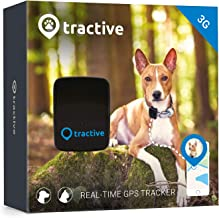 Tractive 3G GPS Dog Tracker – Lightweight and Waterproof Dog Tracking Device with Unlimited Range