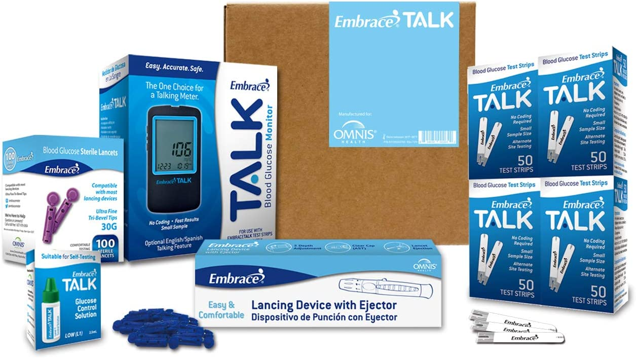 Embrace Free shipping New Diabetes Testing Kit Including Finally resale start Talk Blood Glucos