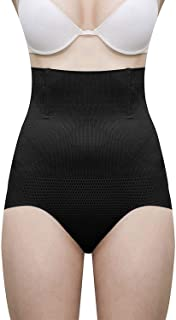 Glamroot Women's Shapewear, High Waist Tummy Control Panty