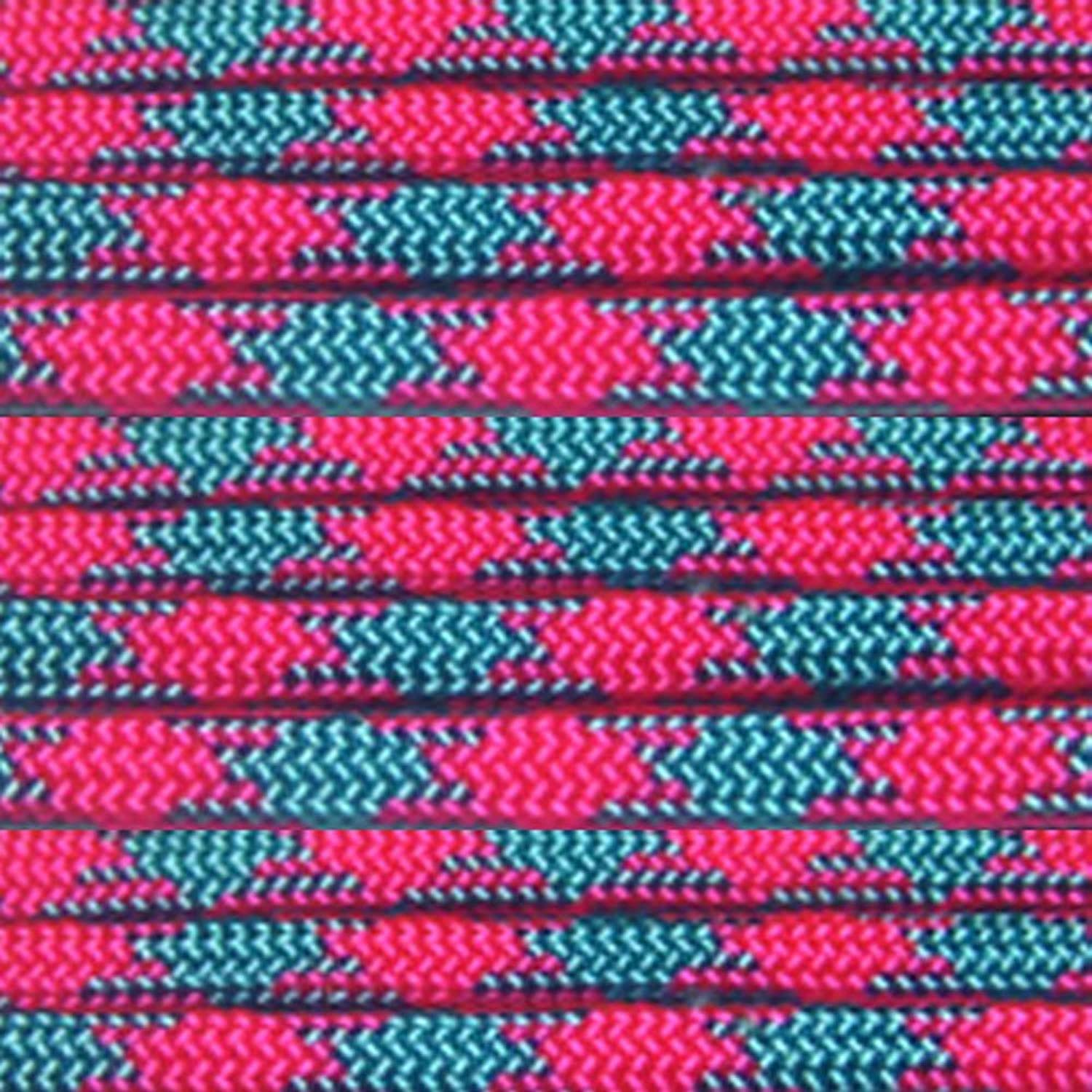 Paracord Planet 550 Cord Type III 7 Strand Paracord 100 Foot Hank - Cotton Candy