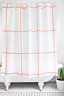 Best orange and gray shower curtains Reviews