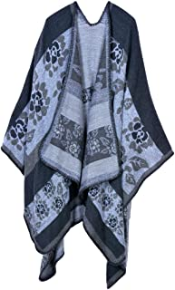 Women's Extra Large Spring and Autumn Long Stole Soft Warm Scarf Shawl Gray