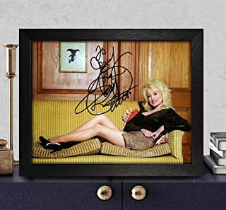 autographed dolly parton