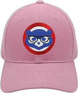 pink chicago cubs hat