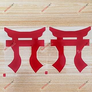 3S MOTORLINE (2) 6'' Torri Rakkasans Decal Sticker 101 Airborne 3 Brigade 187 Infantry red sda3