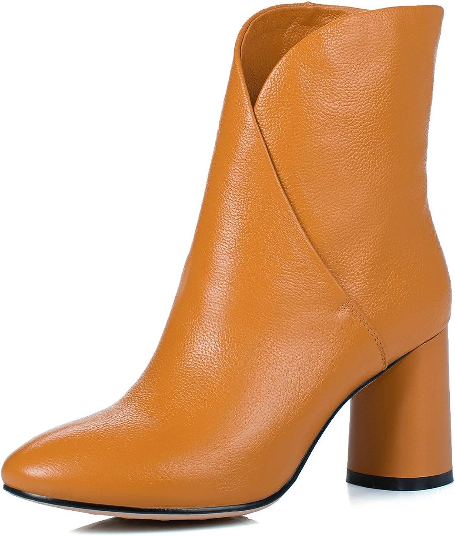 ANNIEschuhe Leder Stiefeletten Stiefeletten Damen mit Blockabsatz Ankle Stiefel Herbst  Online-Outlet-Verkauf