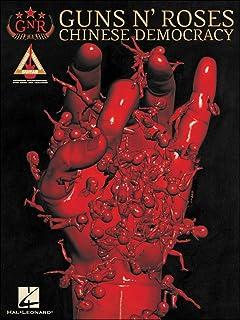 Hal Leonard Guns N` Roses Chinese Democracy Tab Book