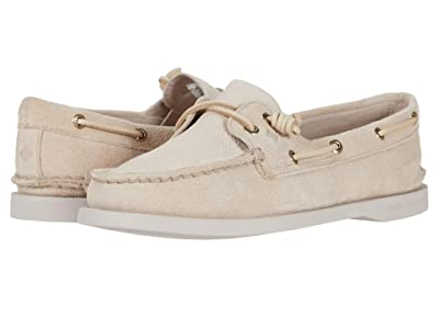 Sperry A/O Vida Serpent Leather (Ivory) Women