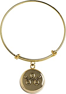 invisawear Smart Jewelry - Personal Safety Device - Gold Expandable Bracelet …