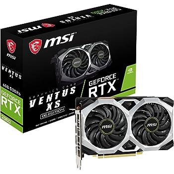 MSI GeForce RTX 2060 VENTUS XS 6G OC グラフィックスボード VD6915