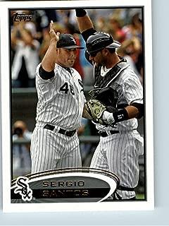 Baseball MLB 2012 Topps #244 Sergio Santos White Sox