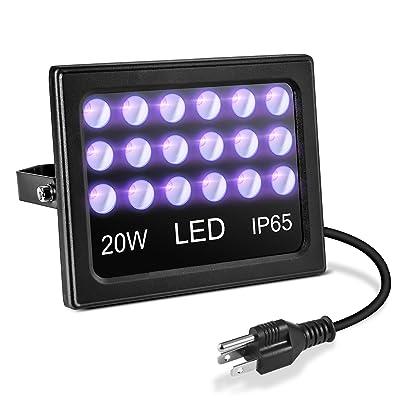 AFANTY 20W LED Blacklight, Plug in Black Light,...