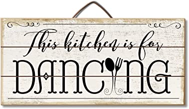 Highland Woodcrafters This Kitchen Is For Dancing Reclaimed Wood Pallet Sign - Made in USA!