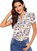 Best women's short sleeve work blouses Reviews