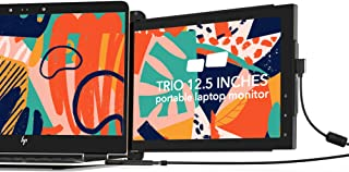 Mobile Pixels Trio Portable Monitor for Laptops, 12.5'' Full HD IPS Screens, USB C/USB A Dual or Triple Displays,Windows/O...