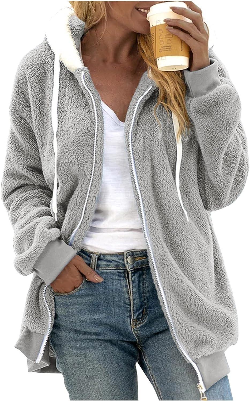 Pzhhzpingg Long Fall Coat 5 popular for Choice Women Sleeve Casual Zipper So