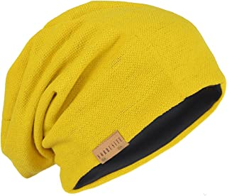 6016b259398 Amazon.com  Yellows - Skullies   Beanies   Hats   Caps  Clothing ...