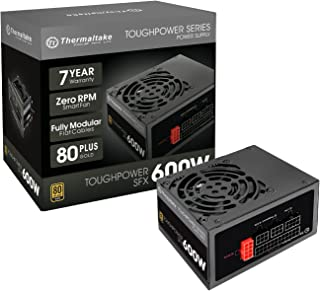 Thermaltake Toughpower SFX ATX 80+ Gold 450W 7 Year Warranty Full Modular Power Supply PS-STP-0450FPCGUS-G 600W PS-STP-060...