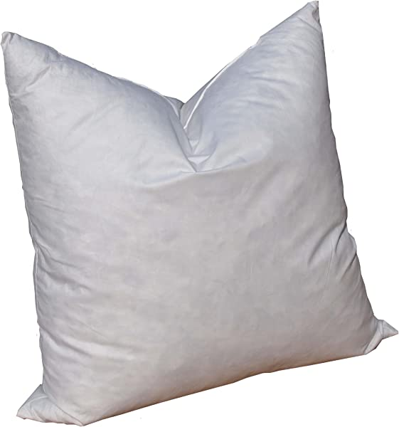 Pillowflex 95 Feather By 5 Down Pillow Form Insert Stuffers For Throw Sham Covers And Cushions 17 Inch By 17 Inch