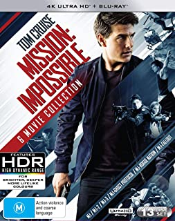 Mission: Impossible [6 Movie Collection] (4K Ultra HD + Blu-ray)