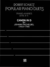 Canon in D: For Advanced Piano (Popular Piano Duet Series)