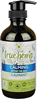 true leaf Pet 77041 Hemp Oil, Calming Support for Dogs, 8 fl. oz.
