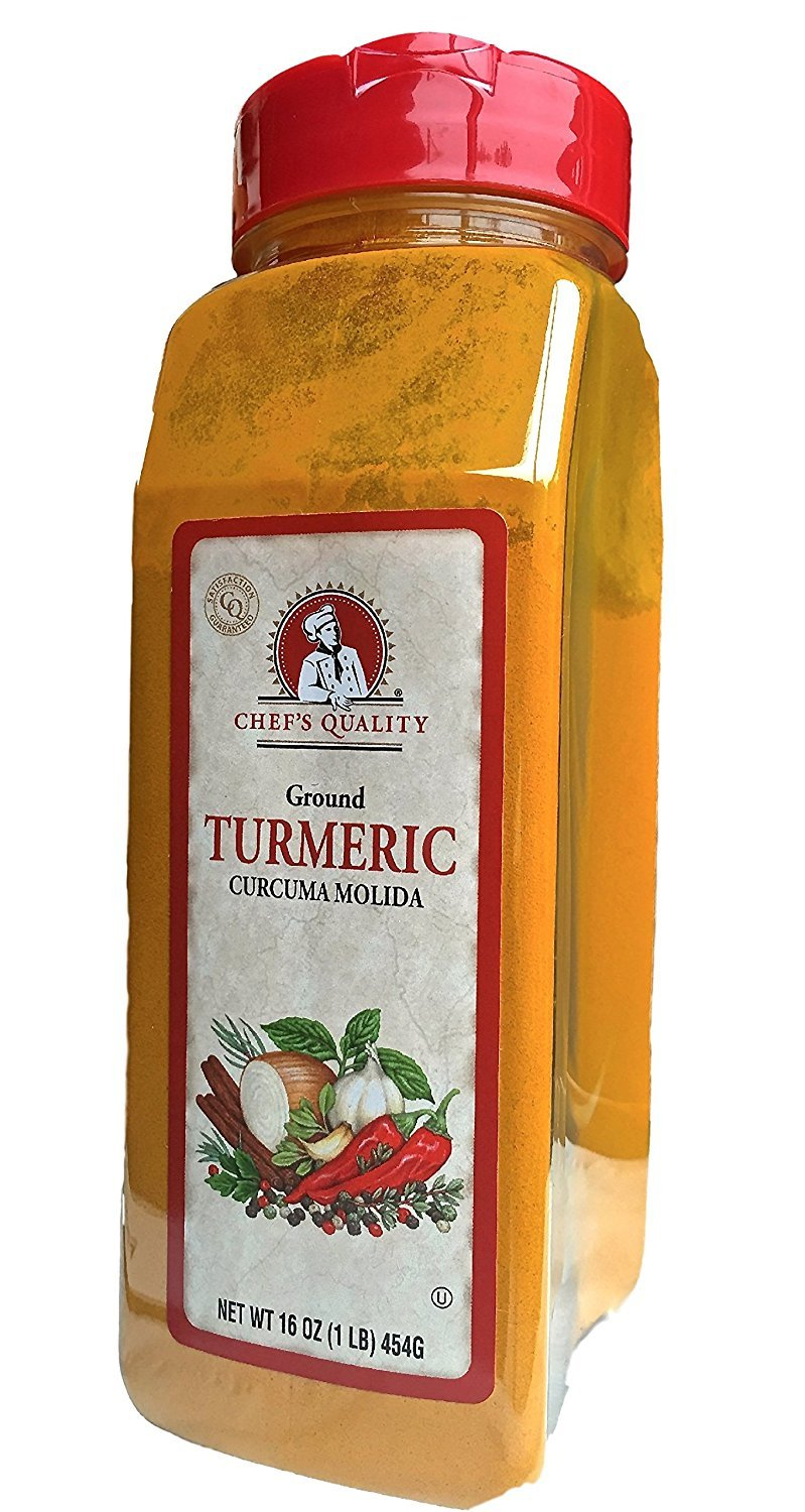 Chef's Quality Ground Time sale Ounce 16 Turmeric Time sale