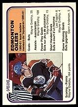 Hockey NHL 1981-82 O-Pee-Chee #126 Wayne Gretzky TL NM Oilers