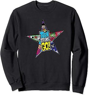 DC Comics Teen Titans Go Star Logo Sweatshirt