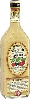 Eierlikör fruchtig Schwarzwälder Kirschwasser Höllberg 16% vol, 1 x 0.7 Liter ohne Aromastoffe hergestellter Likör aus frischen Eiern