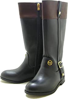 Michael Michael Kors Little Kids/Big Kids Atlantis Tall Black/Brown Boots