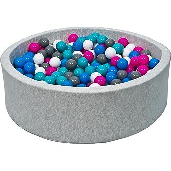 gioco secca morbida Piscina di palline colorate 300 per bambini in schiuma