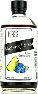 Sponsored Ad - Pope's Blueberry Lemon Syrup