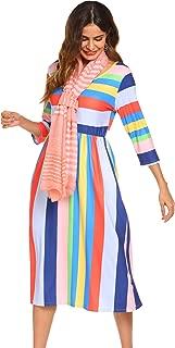 Best rainbow print dresses Reviews
