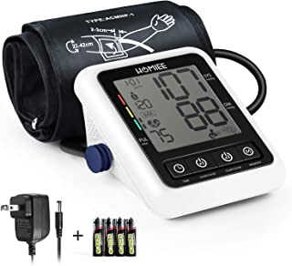 Blood Pressure Machine with AC Adapter, HOMIEE Blood Pressure Monitor with AFIB Detection, 2