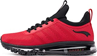 ONEMIX Men's Trainers Road Running Shoes Cushioning Athletic Sneakers for Gym Outdoor Walking 41 EU