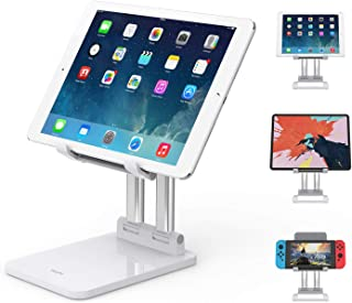 SooPii Sturdy Tablet Stand, Dual Aluminum alloy Support, Height & Angles Adjustable, Foldable,Compatible with Microsoft Su...