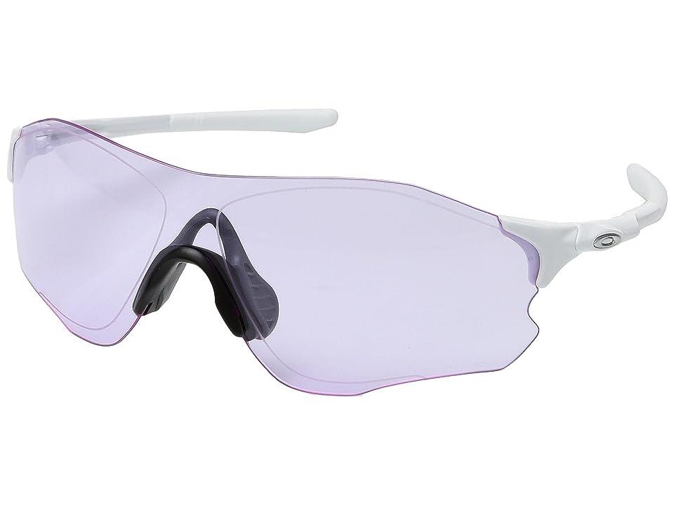 Oakley Evzero Path (Polished White w/ Prizm Low Light) Fashion Sunglasses