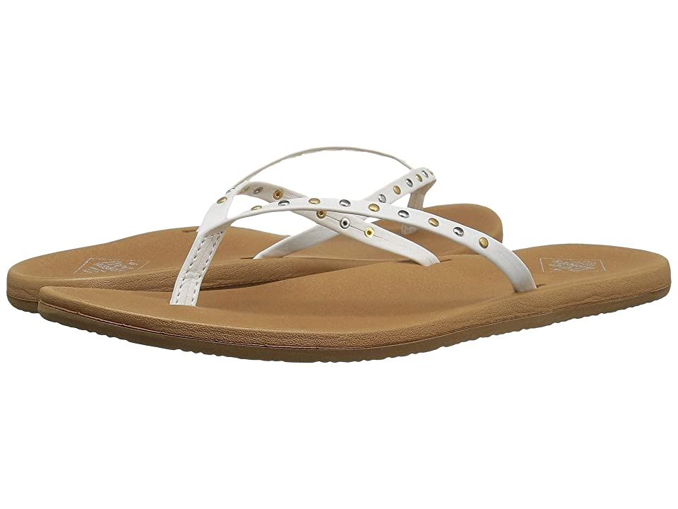 Freewaters Nikki Stud (White/Tan) Women
