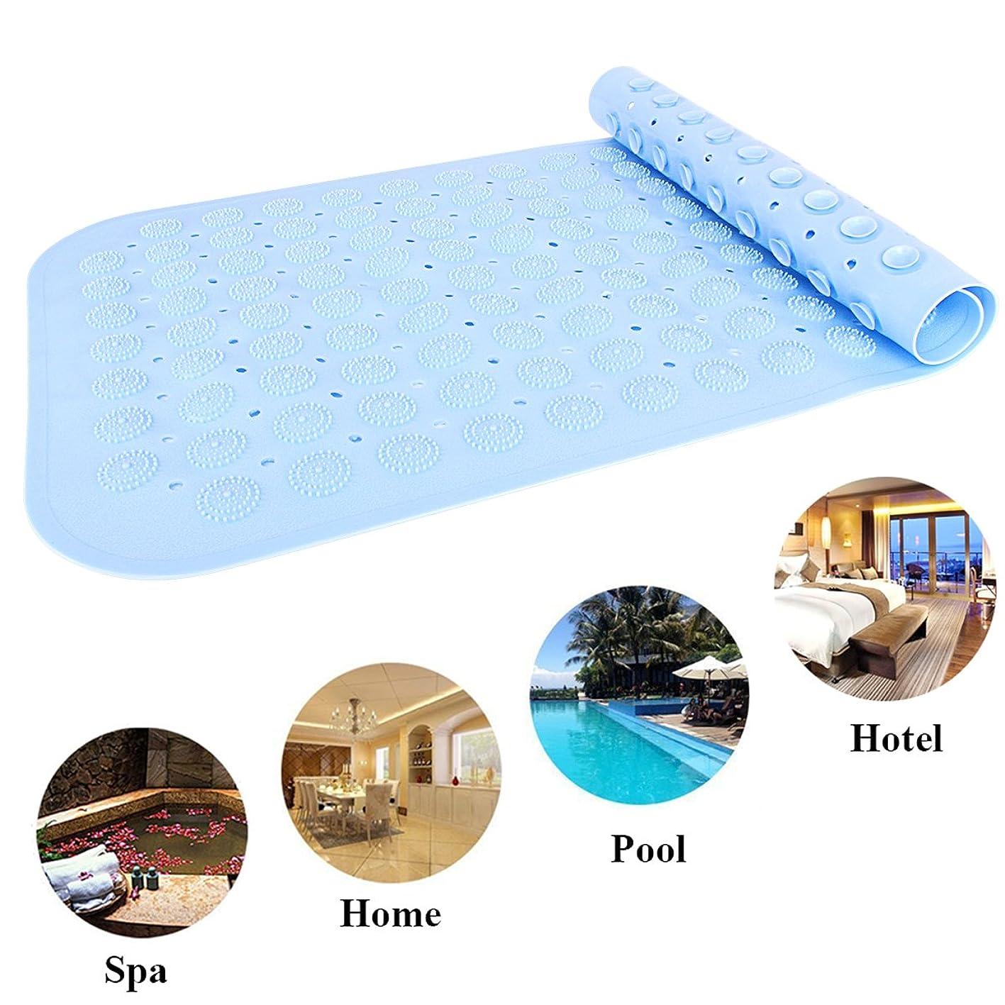 LIANGUS Non-Slip Shower Mat, Dirty Resistant Bath Mat Anti-Slip Mat for Bathroom Toilet Kitchen (Blue) epvvsbonvkk580