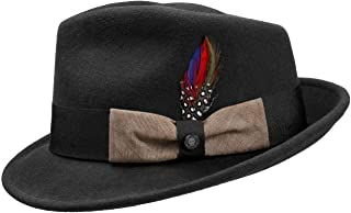 adb7db5665894a Amazon.com: Stetson - Fedoras / Hats & Caps: Clothing, Shoes & Jewelry