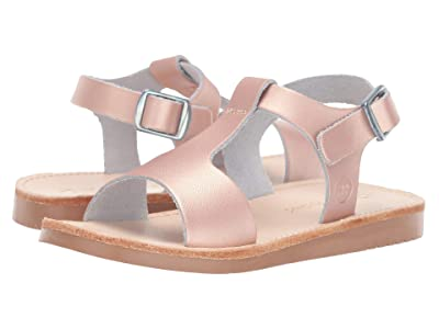 Freshly Picked Malibu Sandal (Infant/Toddler/Little Kid) (Rose Gold) Girls Shoes