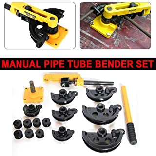 Pipe Bending Machine Pipe Bending Pliers Manual Tool with Dies 10-25mm Rebar Cutters & Benders UK Stock