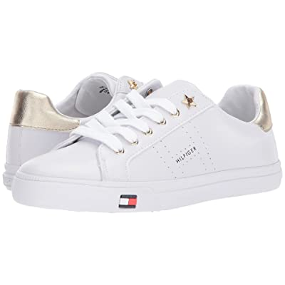 Tommy Hilfiger Lustery (White/Gold) Women