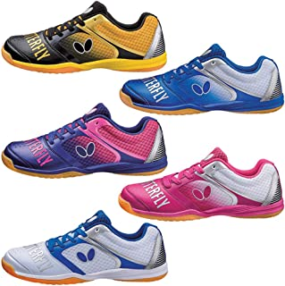 Butterfly Table Tennis Shoes - Groovy - Black, Blue, Navy, Pink, or White - Sizes 4.5-12 - Stylish High Performance Ping Pong Shoes