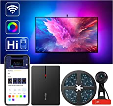 LED TV Backlights,Govee WiFi Dreamcolor TV Lights Kit with Camera, 8.5 Ft TV Led Strip Lights Compatible with Alexa, APP C...