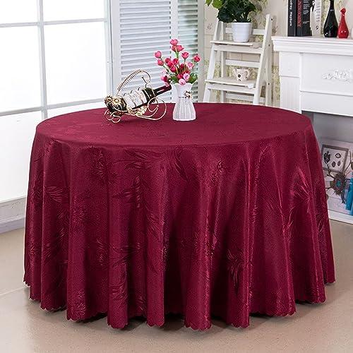 Küchenwäsche Runde Tischdecke Tischdecke - Hotel Living Room Tisch Couchtischdecke - Simple Fashion Tischdecke (Farbe   D, Größe   Round- 300cm)