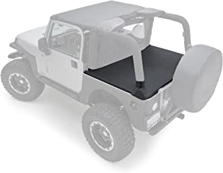 Smittybilt 761035 Tonneau Cover for 1997-2006 Jeep® Wrangler TJ, Black Diamond