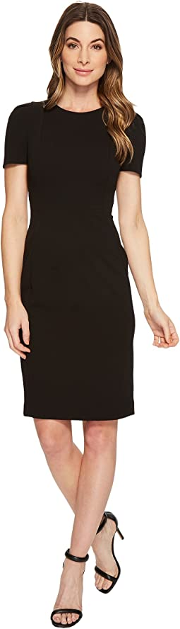 Calvin Klein - Short Sleeve Sheath Dress CD8C19JL