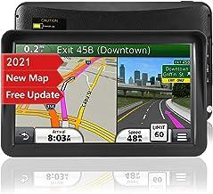 Navegación GPS para coche, mapa de 2021, pantalla táctil de 9 pulgadas, sistema de navegación con recordatorio de dirección de giro a giro para coches, navegador GPS por satélite del vehículo con actualización gratuita de mapas de por vida